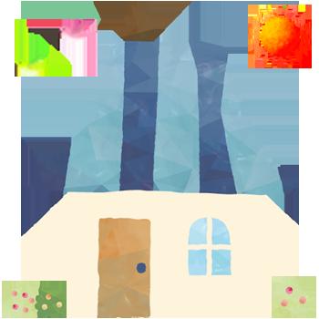 お家のイラスト